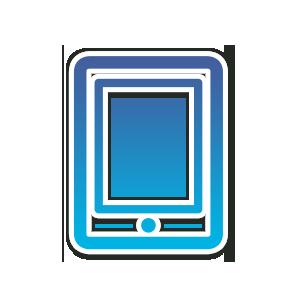 Icon Tablett PC für den Webseitenbereich - Immer und überall