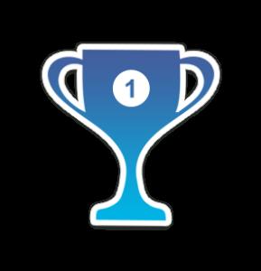 Icon Pokal für den Webseitenbereich - Für die Besten